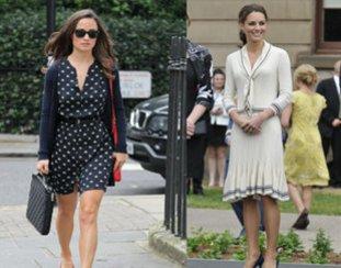 Pippa und Kate Middleton sind immer gut gekleidet