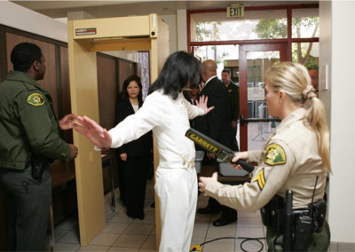 Michael Jackson musste vor Gericht