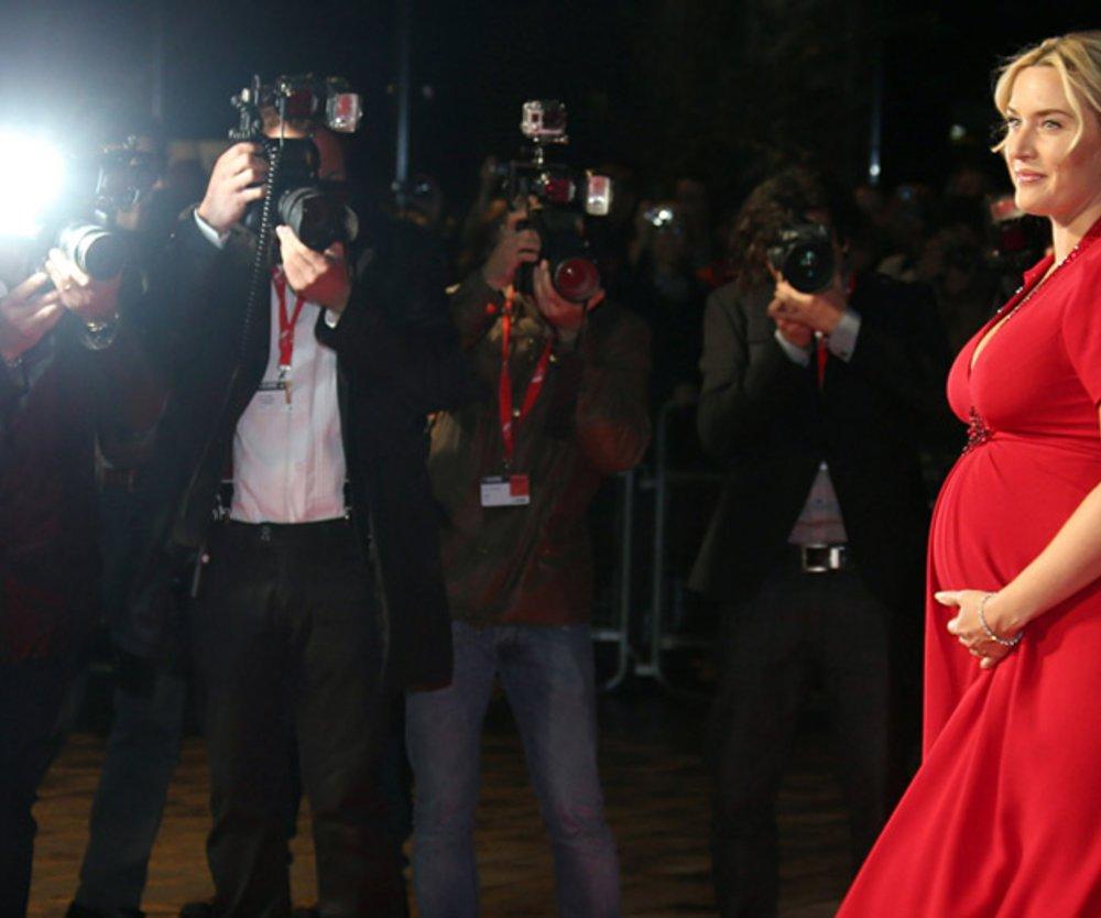 Kate Winslet hochschwanger