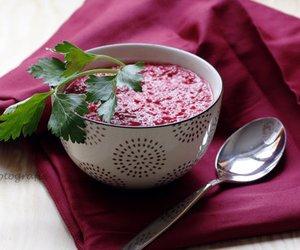 Pikante Rote-Bete-Suppe