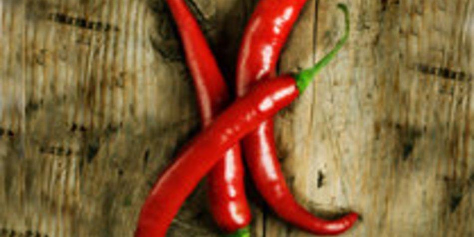 Chili und Ingwer: Scharf und feurig abnehmen!