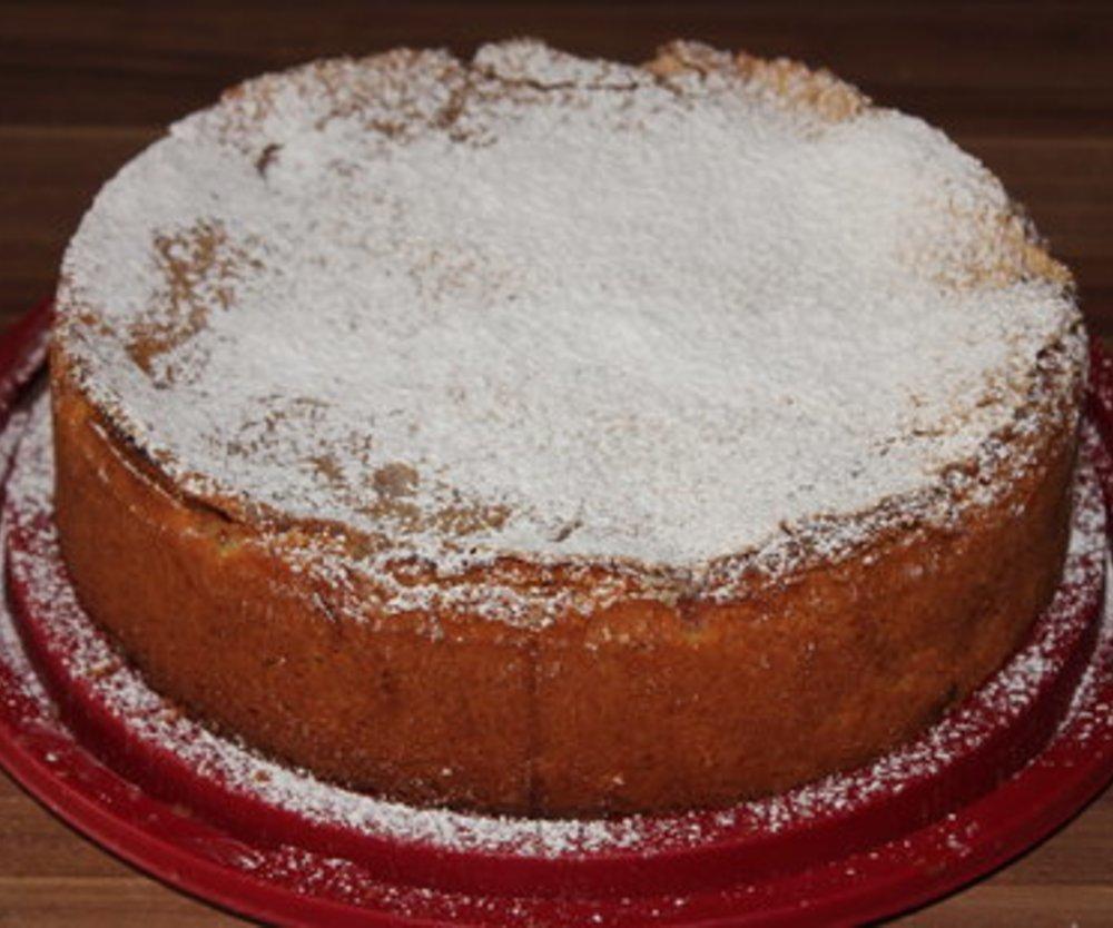 Vanille-Rhabarberkuchen