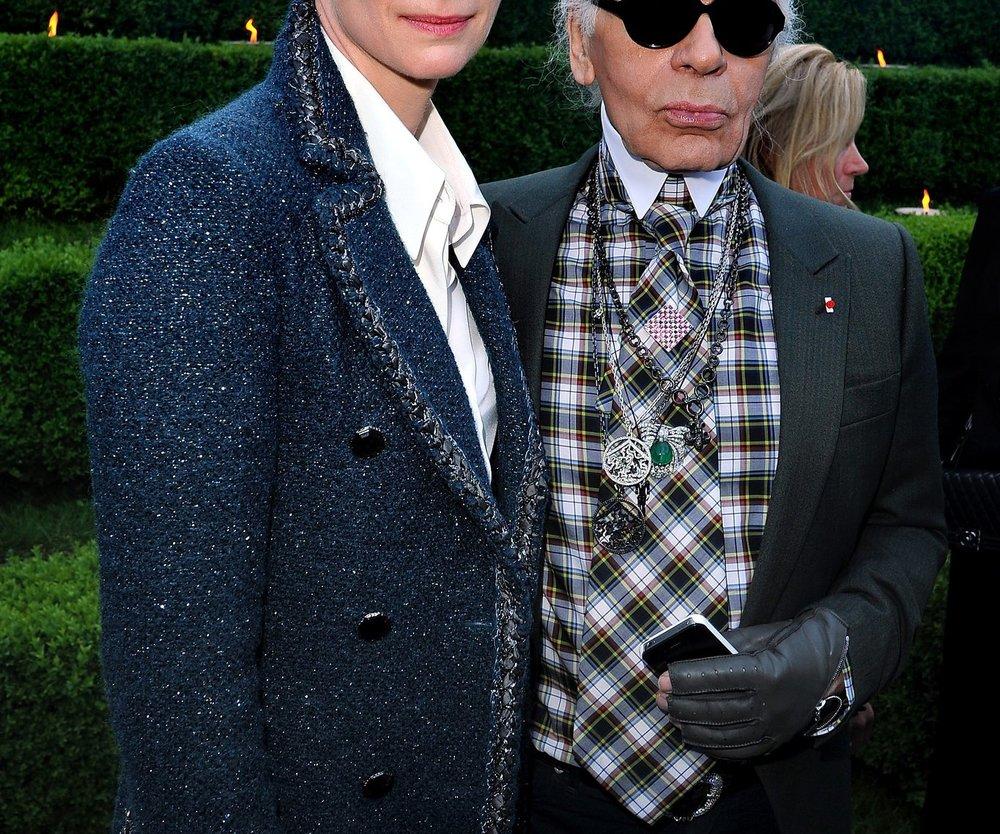 Tilda Swinton als Chanel-Model
