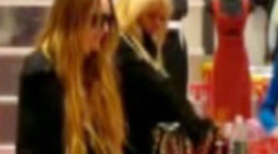 Shopping mit Lindsay