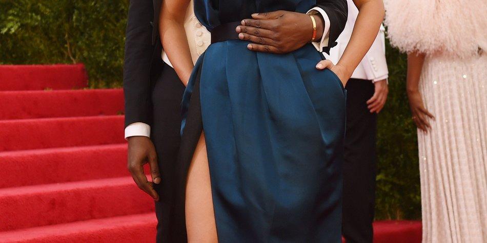 Kim Kardashian und Kanye West flittern ohne Baby