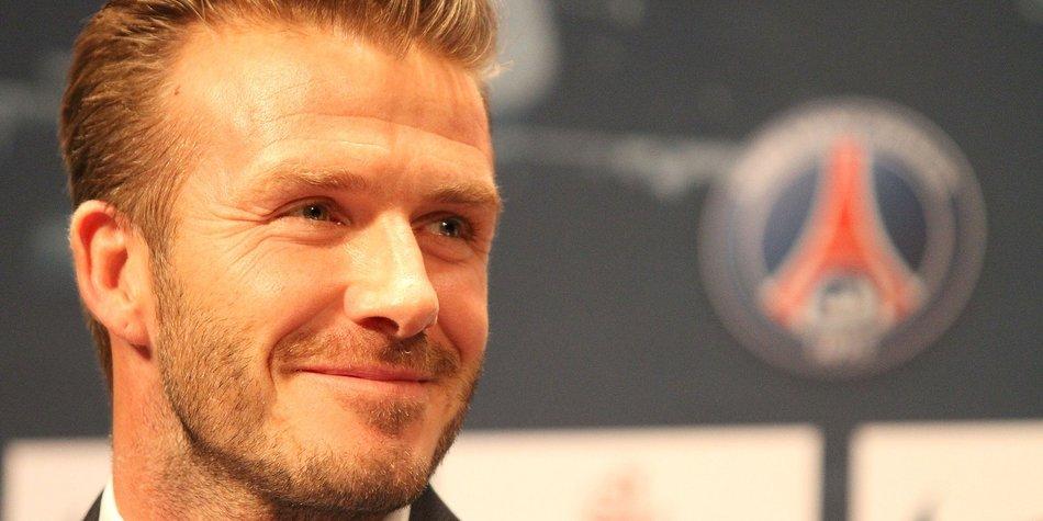 David Beckham steht auf Boxershorts