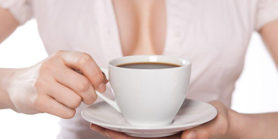 Kaffee lässt Brüste schrumpfen