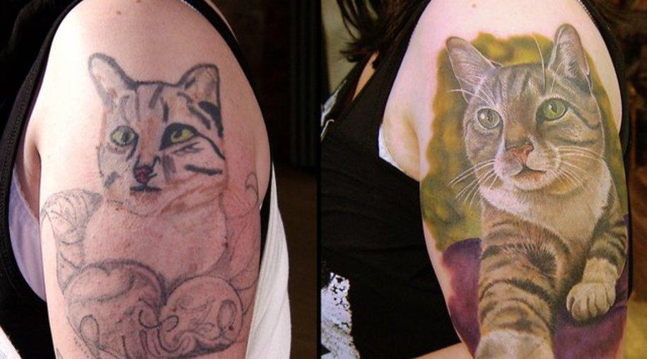 """Tiere sind sehr beliebte Motive für ein Tattoo - aber nicht immer gelingt das Motiv beim ersten Versuch: In der Sixx-Sendung """"Horror Tattoos"""" gibt es Cover-ups."""