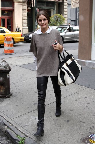 Olivia Palermo in Brooklyn