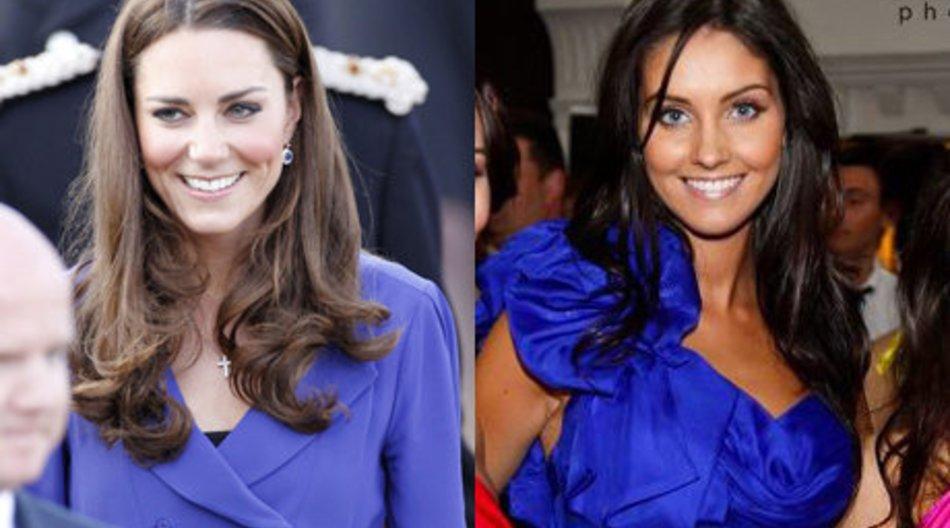 Kate Middleton hat eine Doppelgängerin
