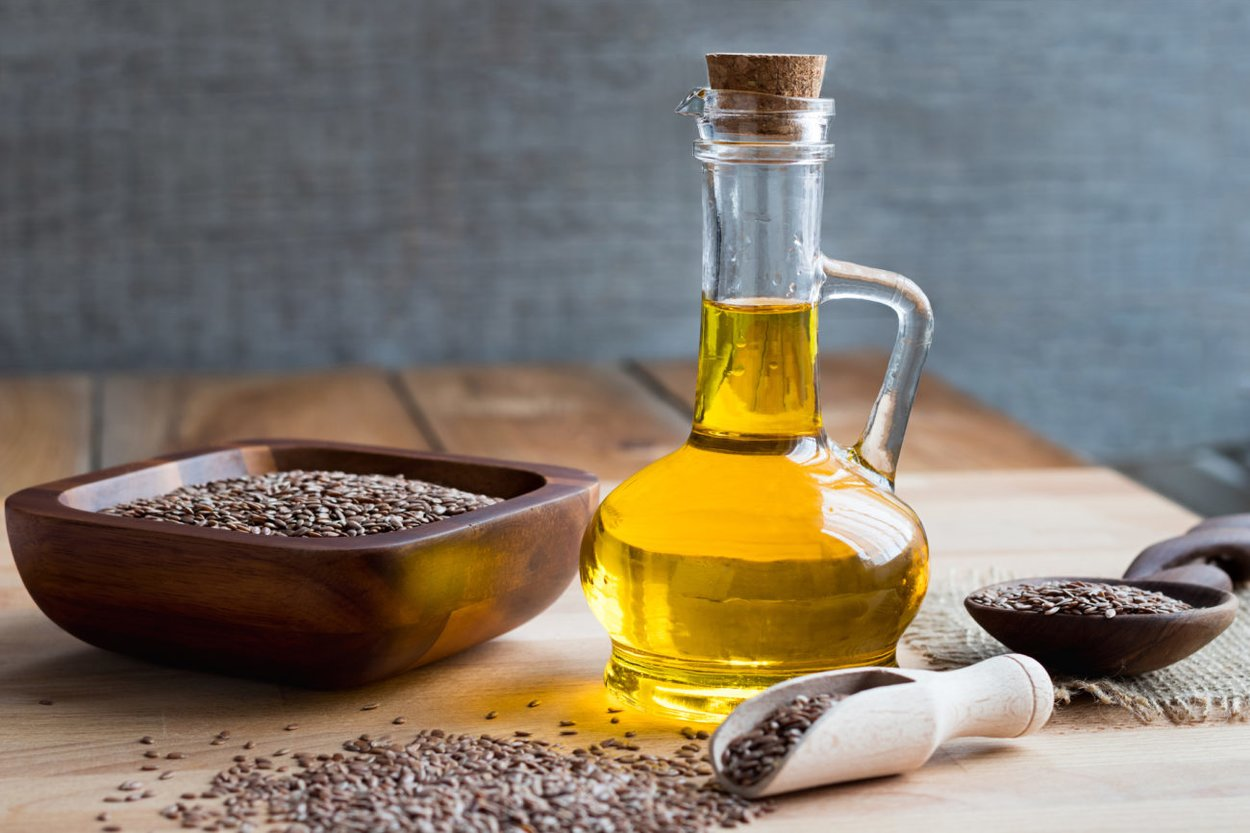 Leinsamen und Leonöl