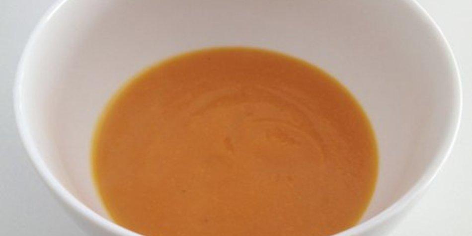 Orangen Karotten Ingwer Suppe
