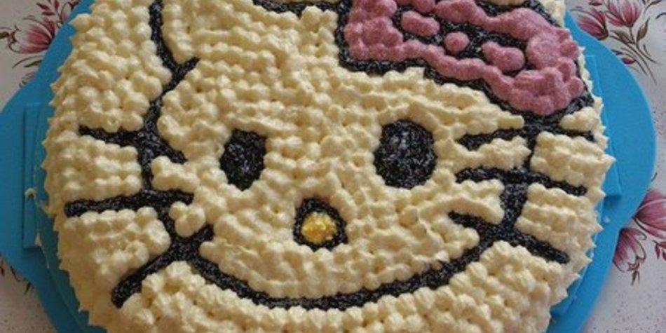 Hello-Kitty EierlikörTorte