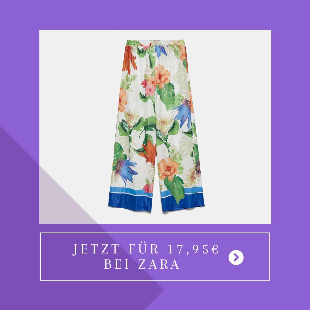 Bunte Hose Zara