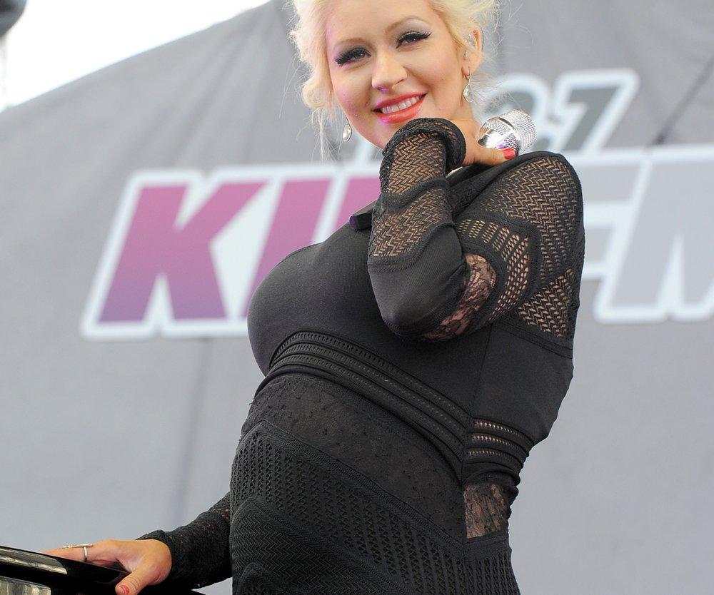 Christina Aguilera diätet während Schwangerschaft