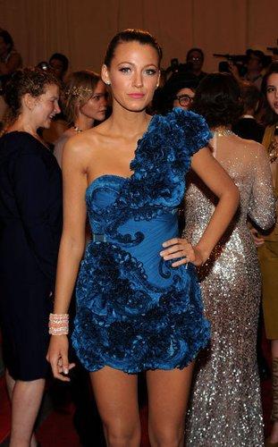 Gossip Girl Star Blake Lively spielt die Rolle der Serena Van Der Woodsen