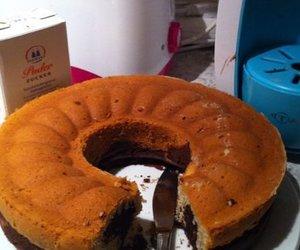 Marmorkuchen mit Nuss-Nougat-Creme