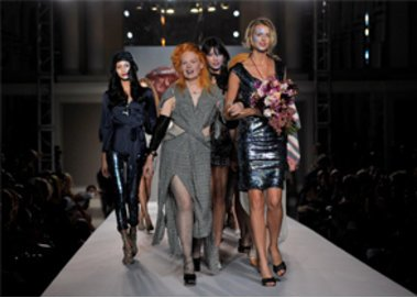 Vivienne Westwood auf der Fashion Week London