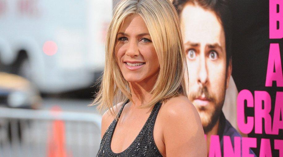 Jennifer Aniston beweist Humor