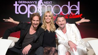 Heidi Klum feiert mit ihrer GNTM Jury auf mallorca