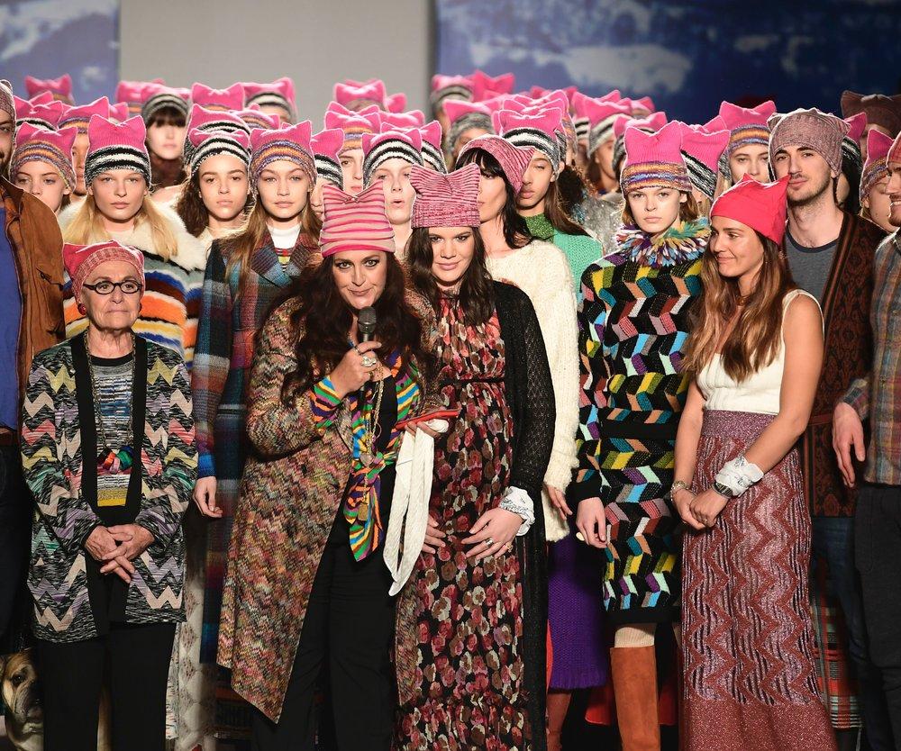 Mode politisch