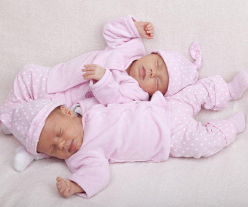 Mehr Zwillinge geboren