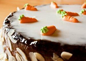 Karottenkuchen Osterbrunch