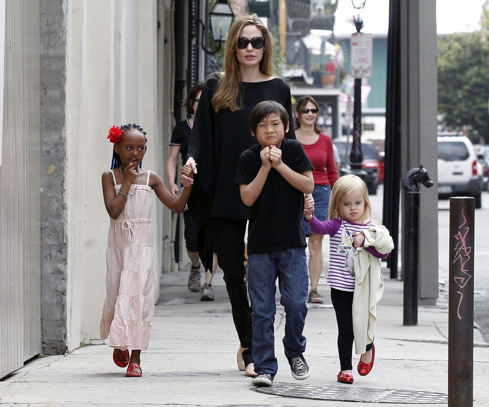 Angelina Jolie: Pax und Zahara Jolie-Pitt spielen in neuem Film mit