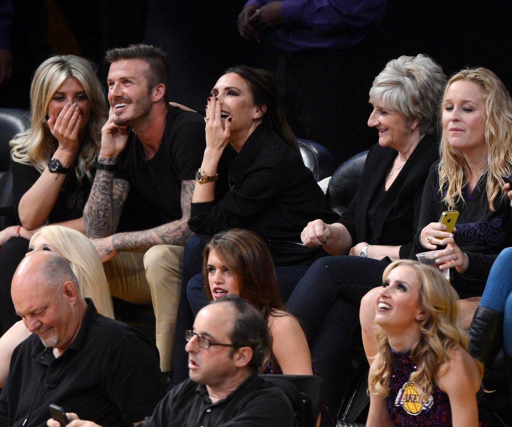 David Beckham: Knutscher zum Geburtstag