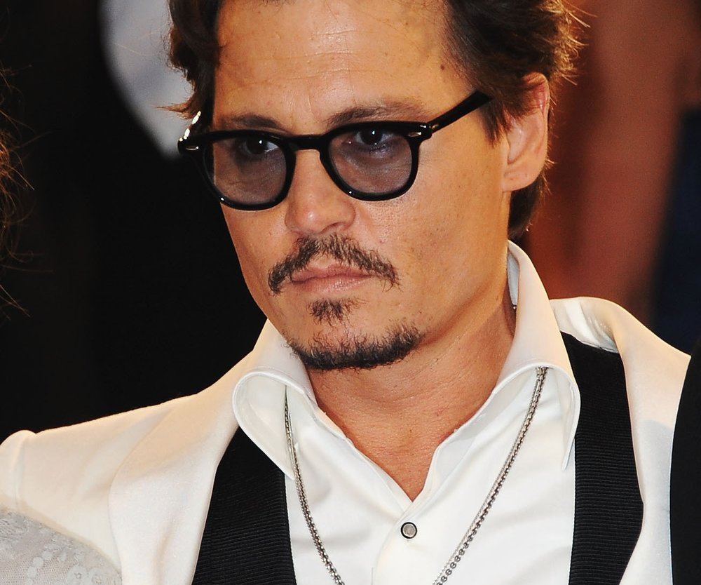 Johnny Depp als Säufer