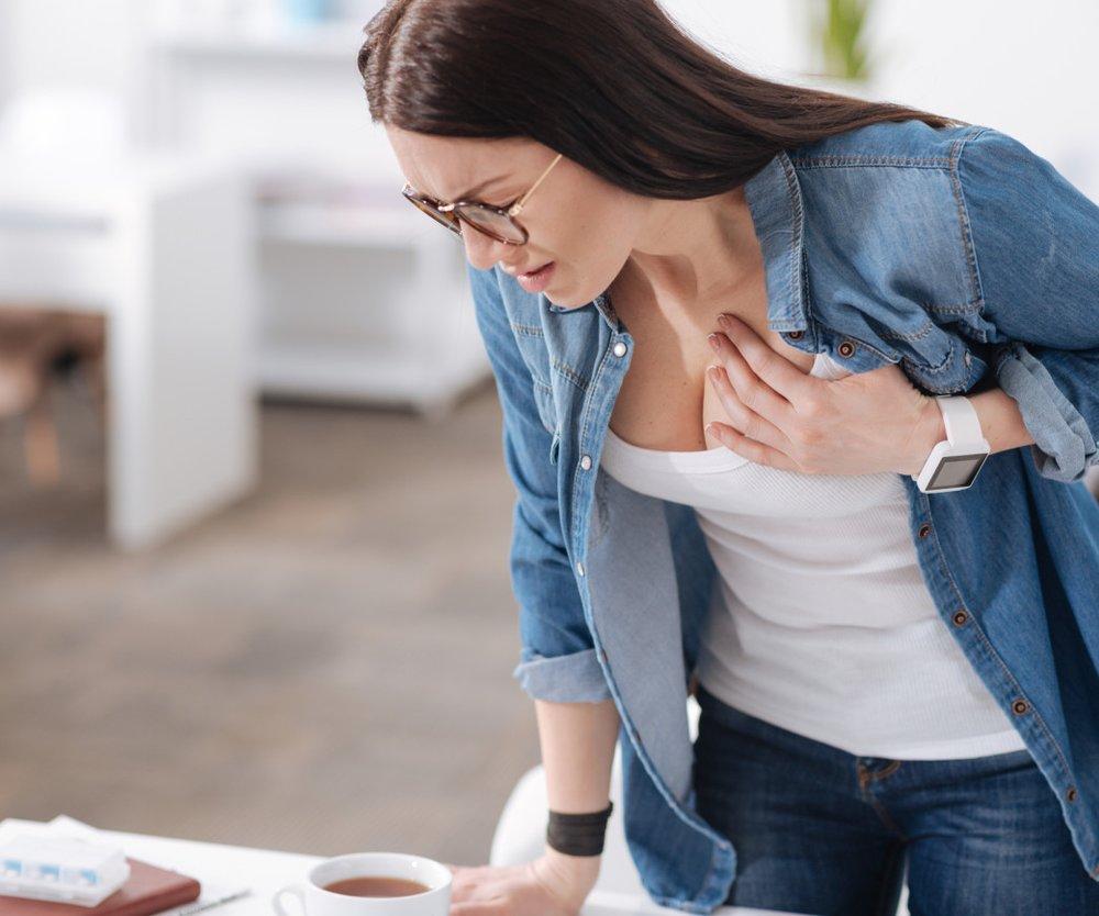 Brustschmerzen vor der Periode