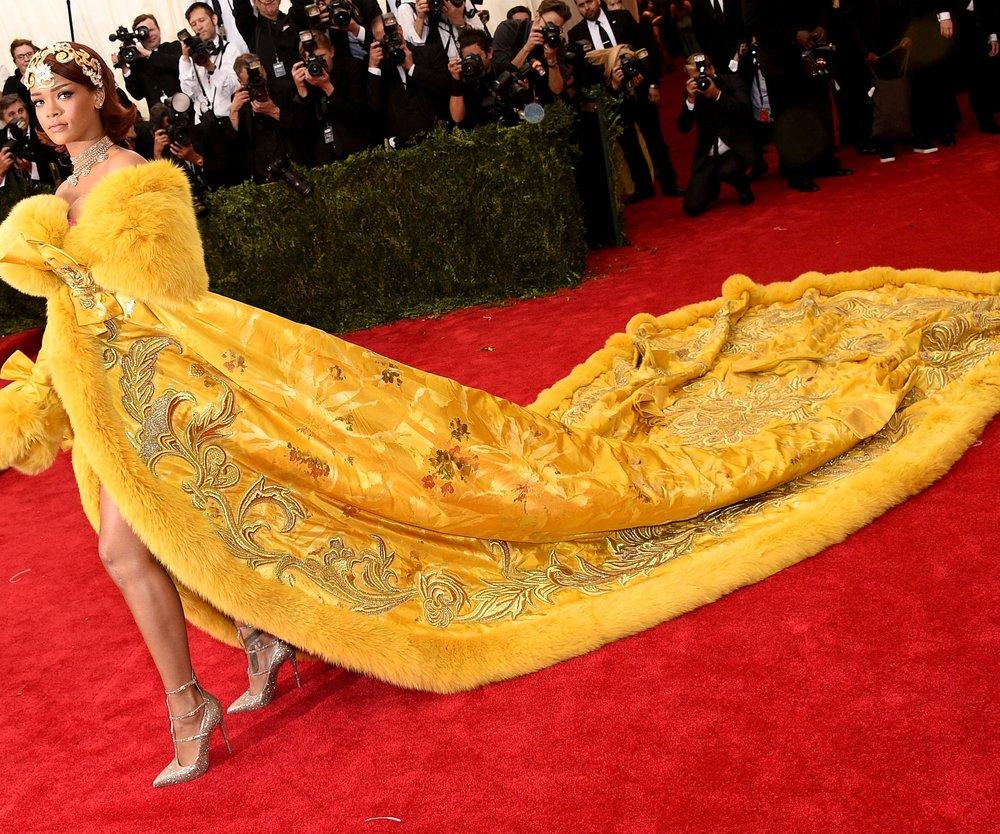 Rihanna: Ihr MET-Kleid ist aus dem Internet