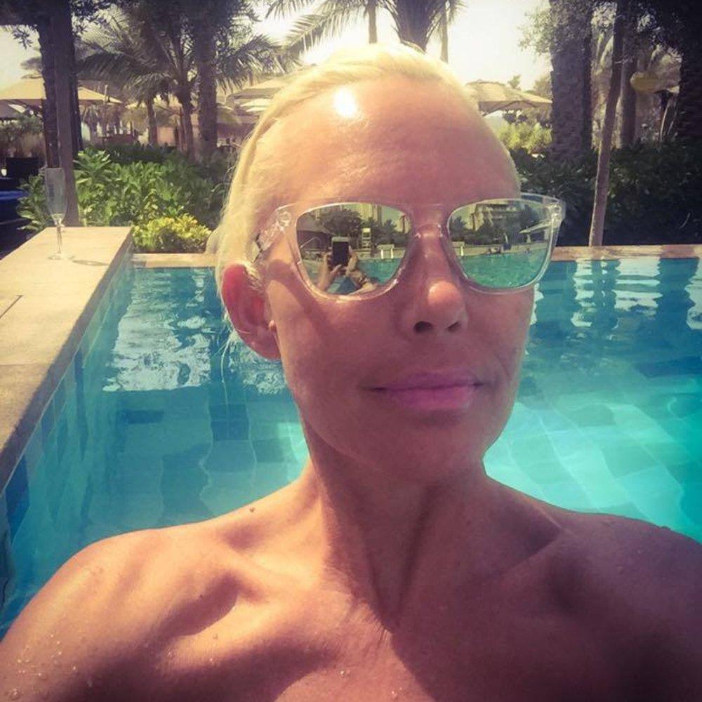 Natascha Ochsenknecht erholt sich in Dubai