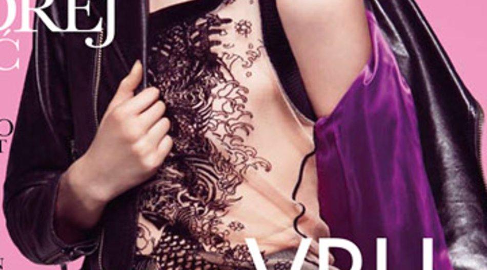 "Andrej Pejić hat es auf das Cover der ""Elle"" geschafft."