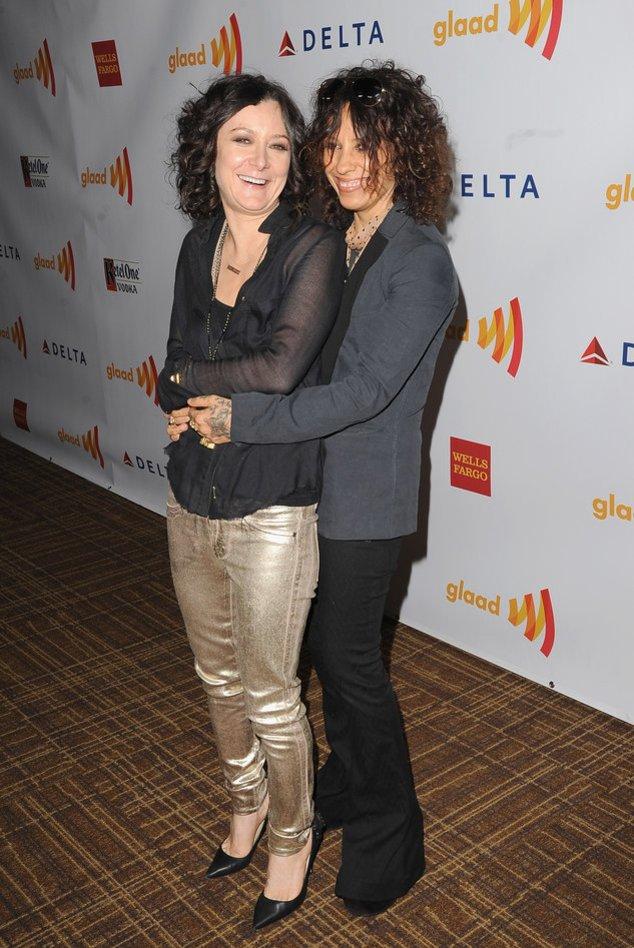 Bing Bang Theory: Sara Gilbert und Linda Perry freuen sich auf ihr Baby