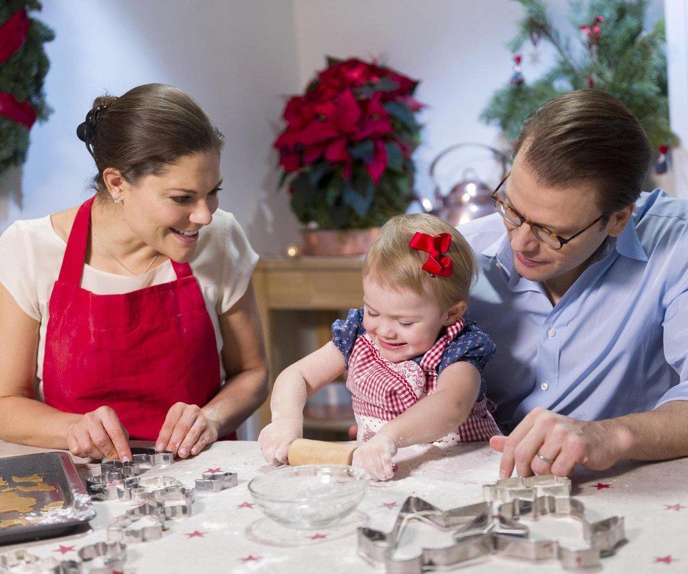 Victoria von Schweden: Weihnachtsglück mit ihrer Estelle
