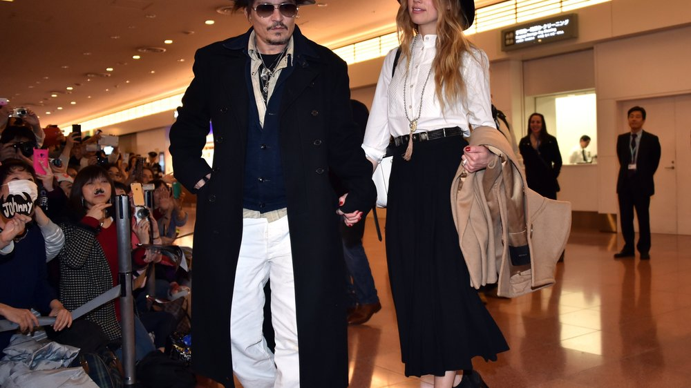Johnny Depp und Amber Heard: Von wegen Krise!