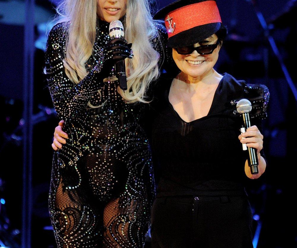Lady Gaga wird von Yoko Ono geschätzt