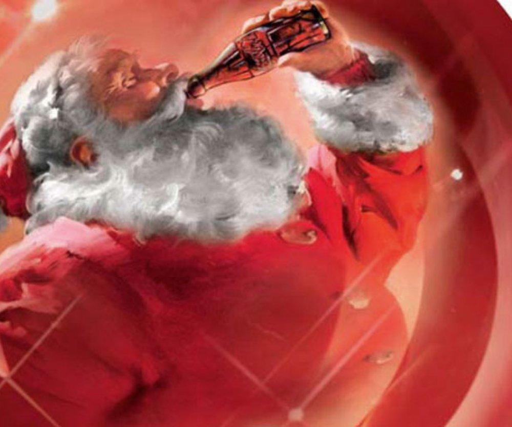 Coca Cola Weihnachtsmann