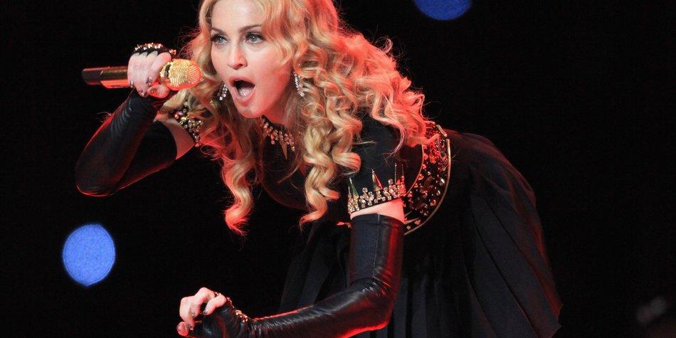 Madonna war der Star des Super Bowls
