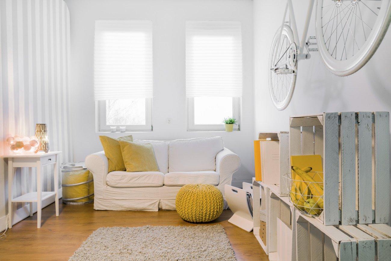 Mit Licht arbeiten bei kleinem Wohnzimmer