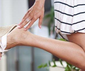 Füße in Sandalen