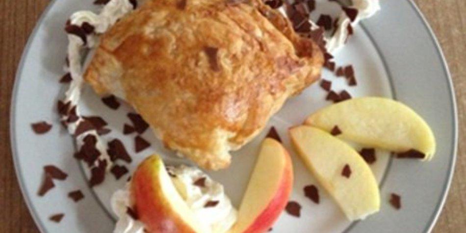 Honeycrunch-Nuss-Blätterteigtaschen
