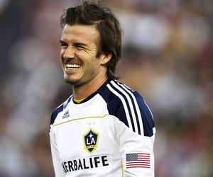 David Beckham zeigt seine Liebe