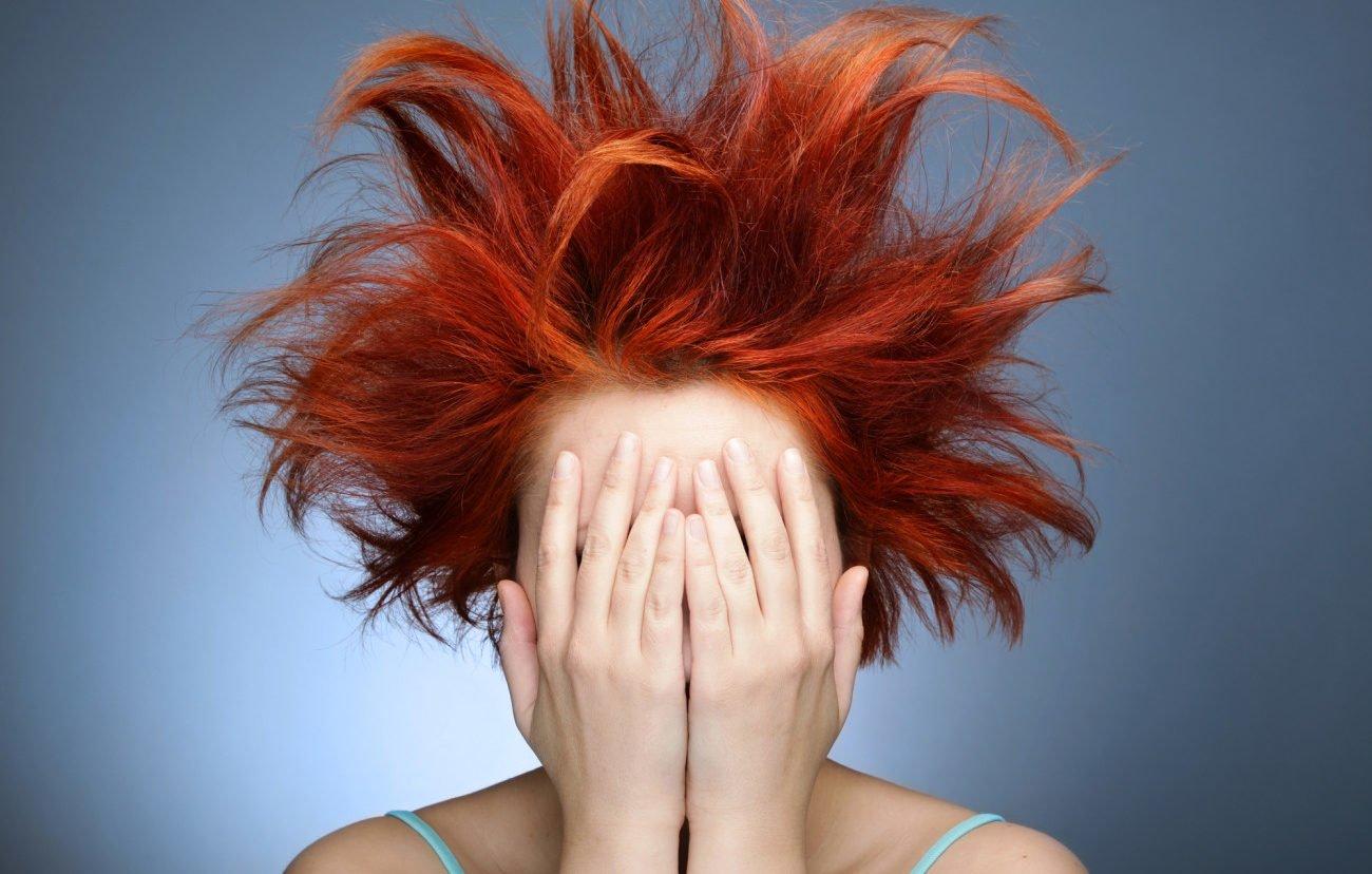 Rote Haarpigmente