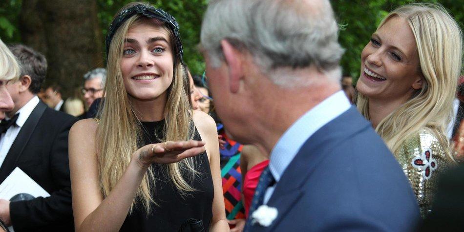 Cara Delevingne: Per Du mit Prinz Charles