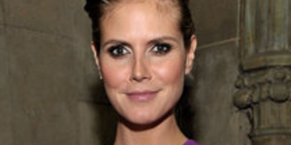 Heidi Klum entwirft Schwangerschaftsmode