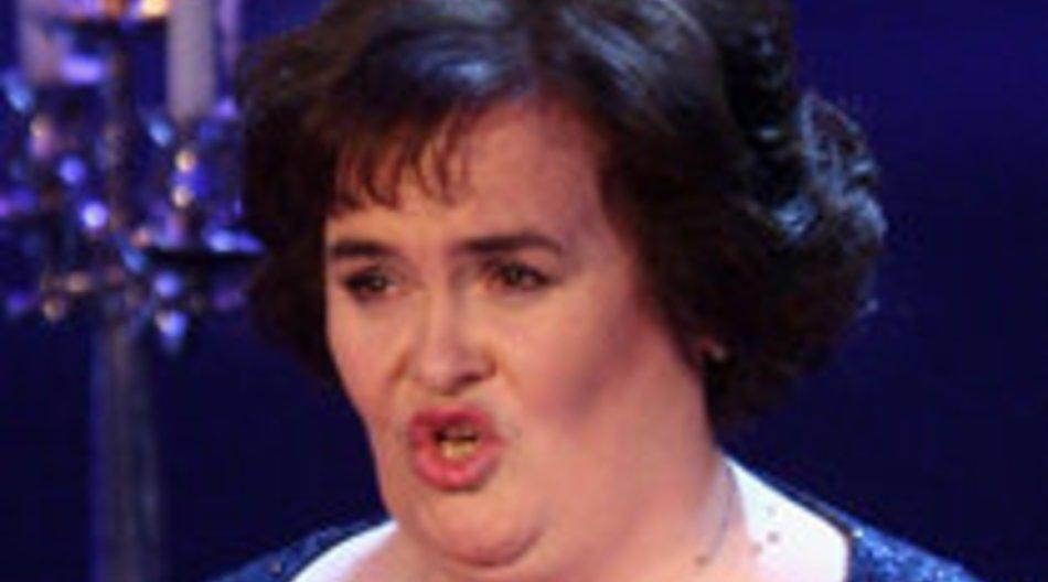 Susan Boyle: Skurrile Tanzeinlage