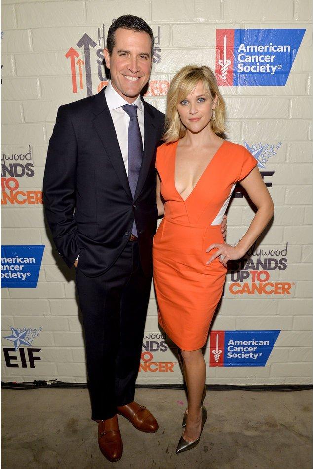 Reese Witherspoon und Jim Toth bei einem Charity-Event