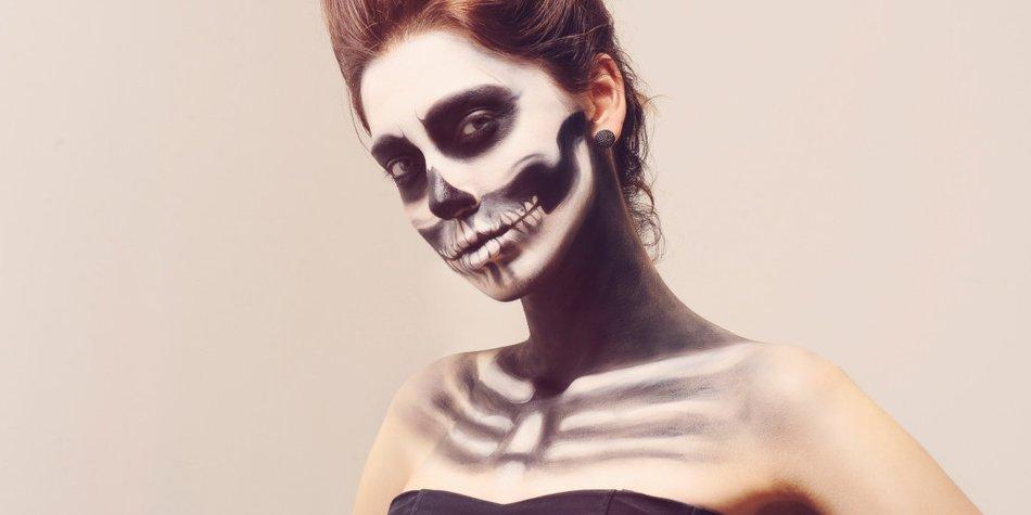 Einfaches Halloween Make Up 5 Tolle Ideen Desired De